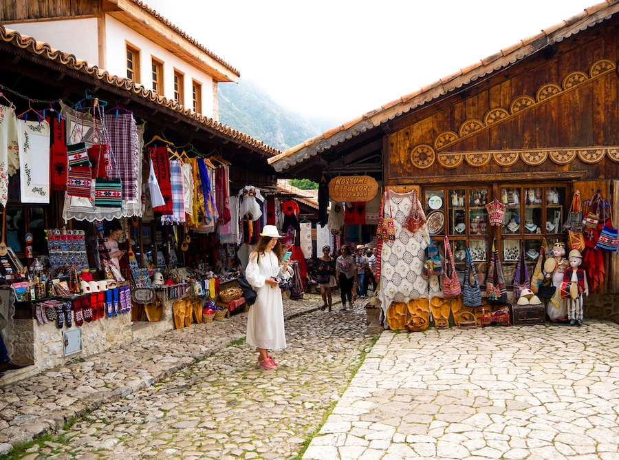 Souvenirs In Albania - What to buy in Albania - Kruje Market
