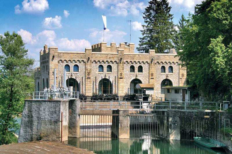 Mujara - Old Hydropower Plant_Ozalj TZ