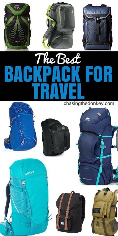 The Best Backpack For Travel Reviews and Guide - TRAVEL REVIEWS - Chasing the Donkey