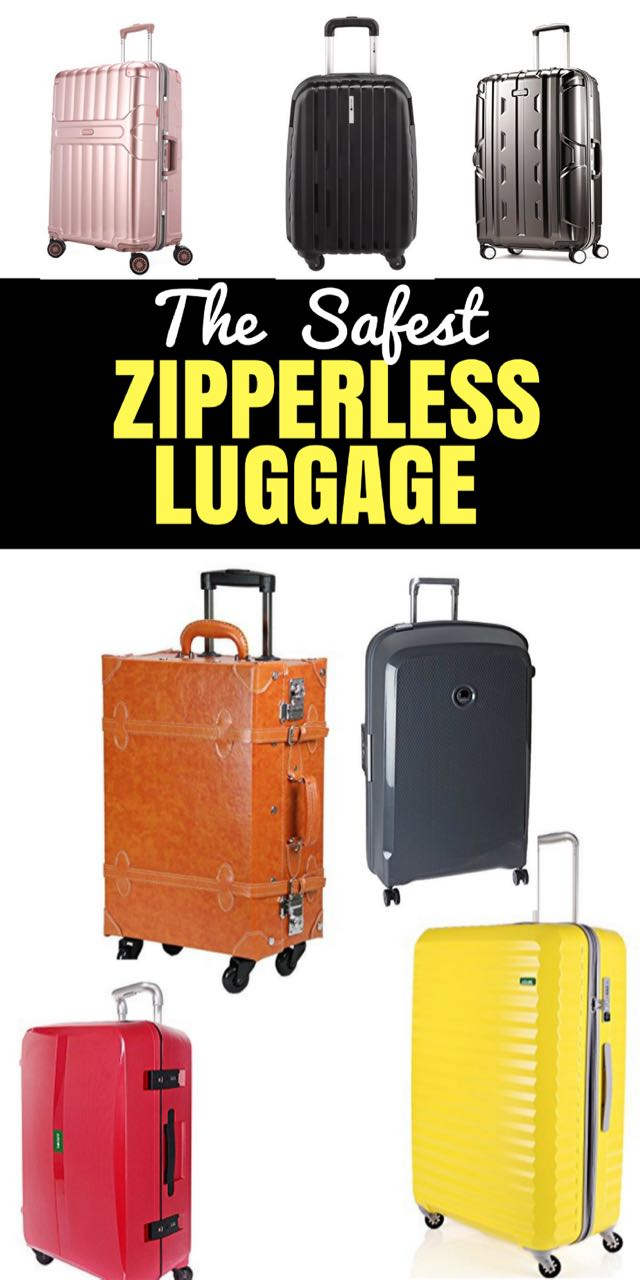 2017 Best Zipperless Luggage Reviews & Comparison Chart. We need to be so careful about our luggage, and these bags with no zips help prevent theft!