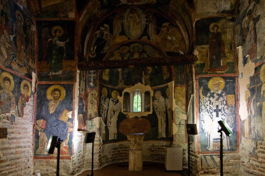 Balkans Travel Blog_Things to do in Sofia_Boyana Church Narthex