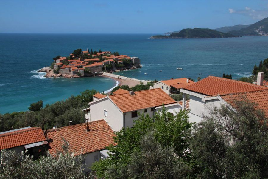 Balkans Travel Blog_Top Coastal Villages And Towns In Montenegro_Sveti Stefan
