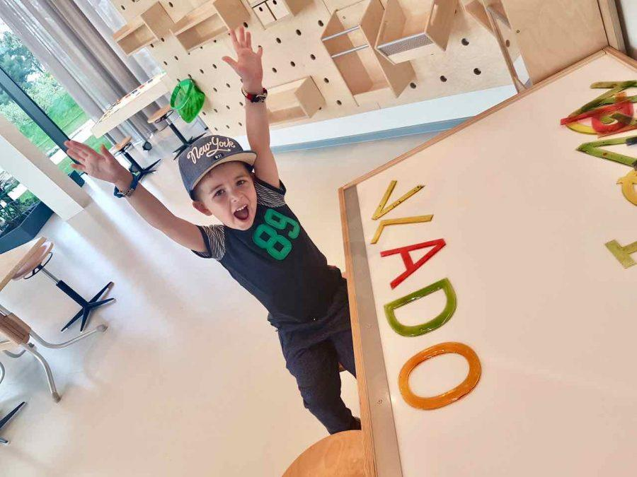 Family Hotel Amarin: Playing Games WIth Letters