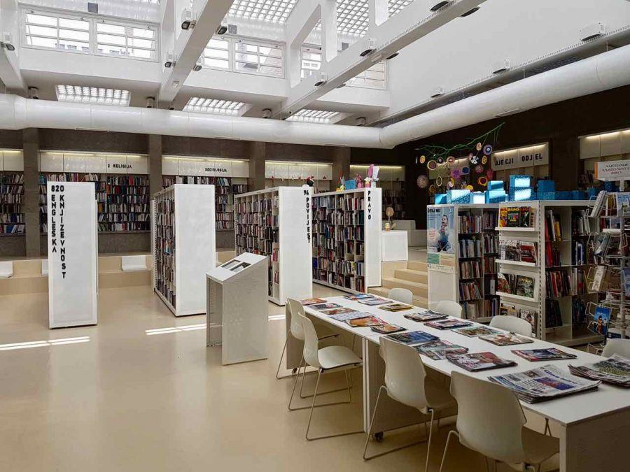 Things to do in Labin - Town Library