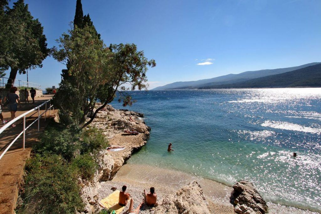 Things to do in Rabac Croatia - Beachtime