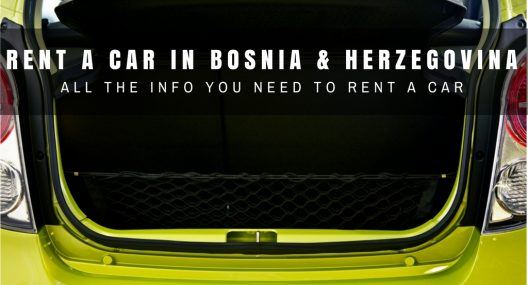 Bosnia & Herzegovina Travel Blog_Rent a Car in Bosnia & Herzegovina_COVER