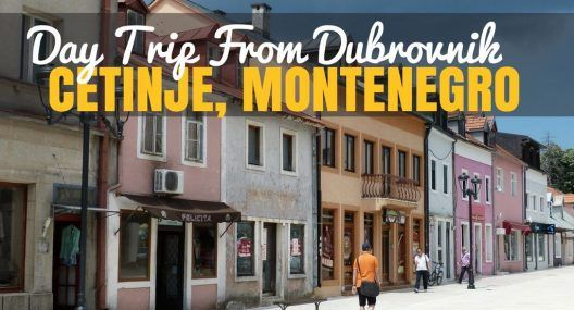 Day Trip to Montenegro - Cetinje