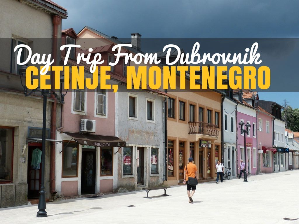 Day Trip to Montenegro - Cetinje