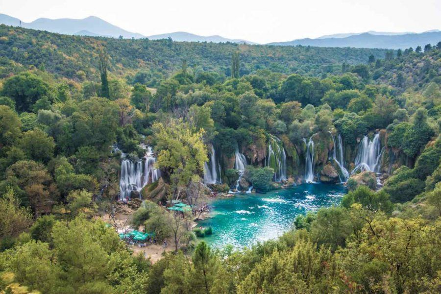 Kravice Viewpoint - Kravice Waterfalls - Travel Blog