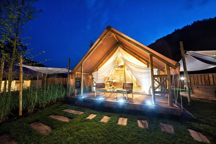 Slovenia Travel Blog_Glamping in Slovenia_Herbal Glamping Resort