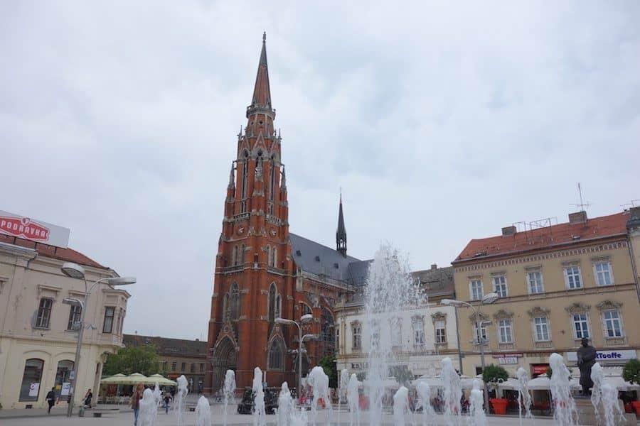 Things-to-do-in-Osijek-Croatia-Trg-Ante-Starčevića-Croatia-Travel-Blog