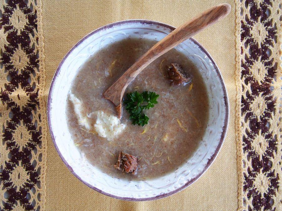 Croatian Recipe: Prežgana Soup (Brown Roux Soup)