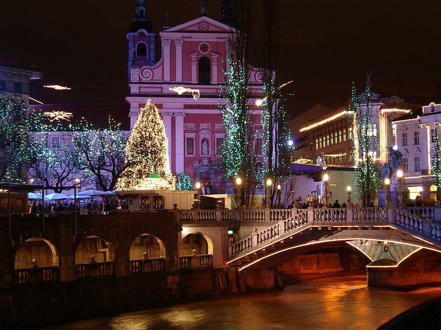 Things to do in Slovenia_The Bridges of Ljubljana_Triple bridge