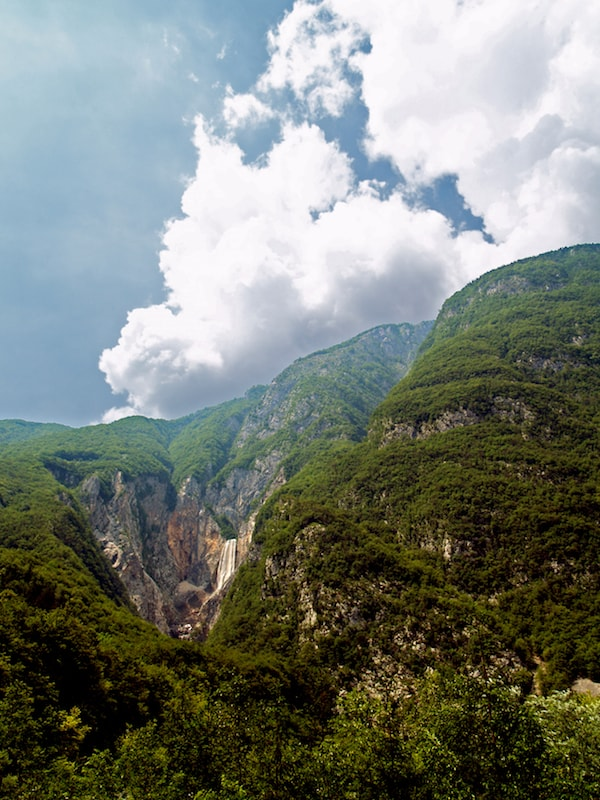 Things to do in the Balkans_Soca River Valley_Boka Waterfall