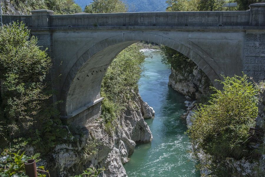 Things to do in the Balkans_Soca River Valley_Napoleon Bridge