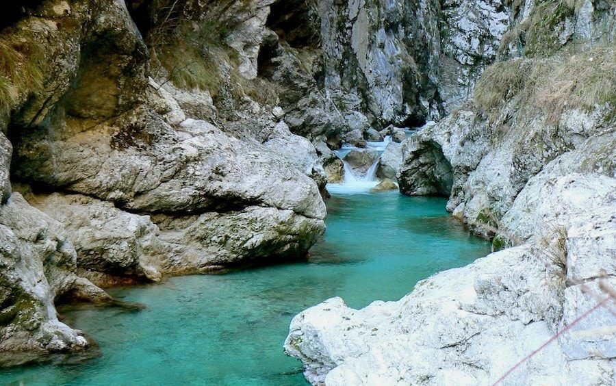 Things to do in the Balkans_Soca River Valley_Tolmin Gorge