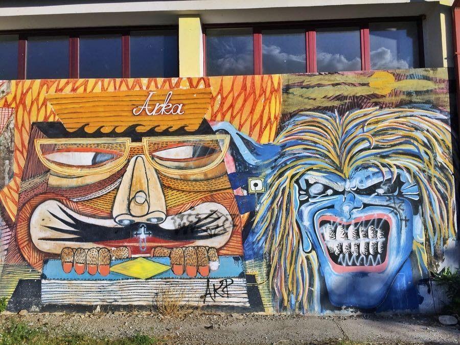 Fun Things to do in Podgorica, Montenegro - Street Art 2