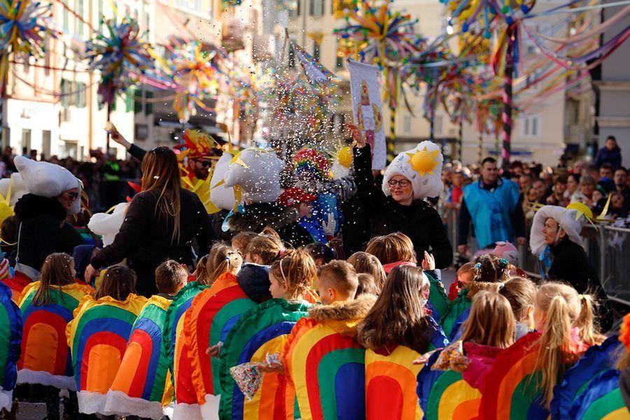 Things to do in Croatia_Carnival in Croatia_Rijecka Children's Carnival Parade