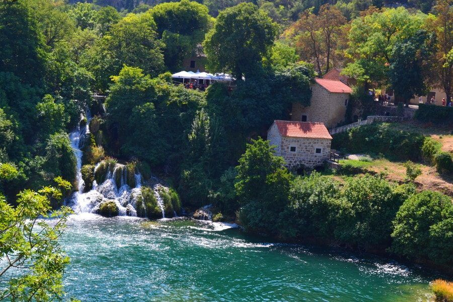 Things to do in Croatia_Day Trip to Krka National Park_Krka Waterfalls 2