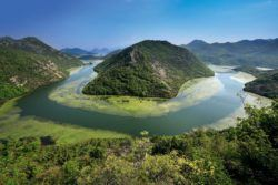 What to do in Montenegro - View of Lake Skadar, Montenegro