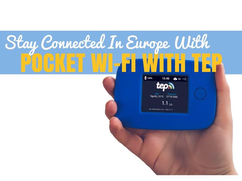 Pocket Wifi in Europe