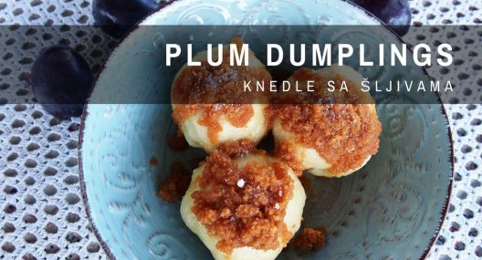 Croatian Plum Dumplings Recipe {knedle sa šljivama}