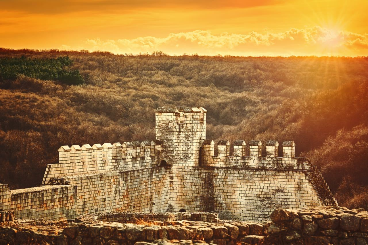 Best Castles In Bulgaria - Remains Shumen Fortress Bulgaria