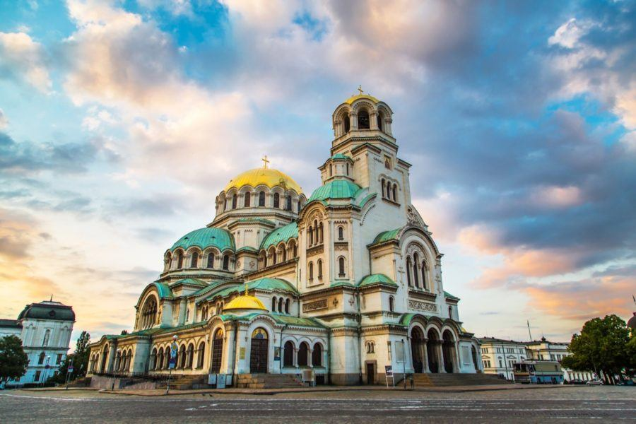 Things To Do In Sofia -St. Alexander Nevski Cathedral in Sofia, Bulgaria