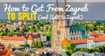 How to Get From Zagreb to Split to Zagre)