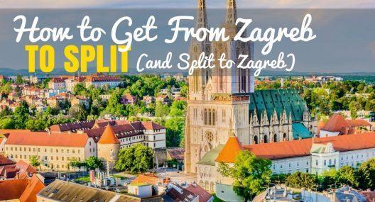 How to Get From Zagreb to Split (& Split to Zagreb)