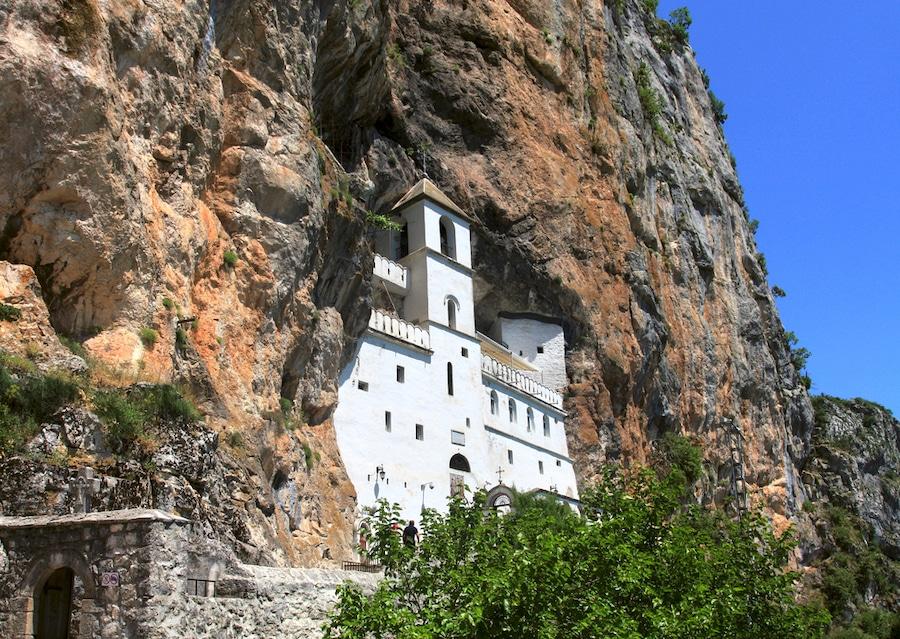 Ostrog orthodox monastery, Montenegro