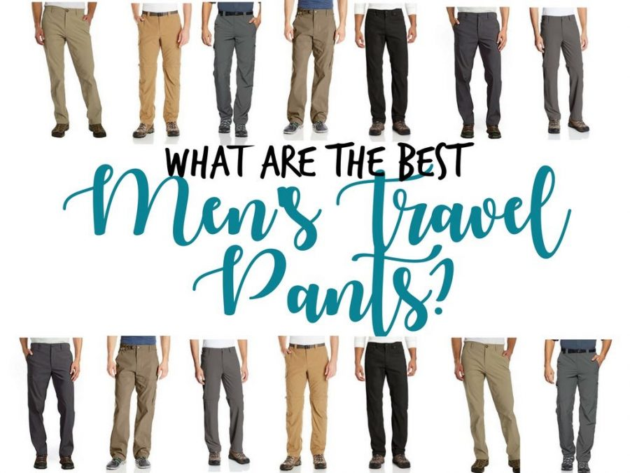 2018 Men's Travel Pants