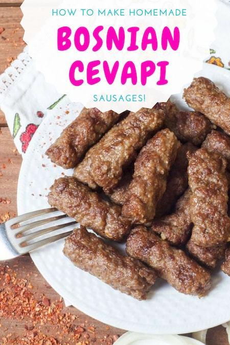 Balkans Travel Blog_Balkans Food Recipes_Bosnian Cevapi Recipe