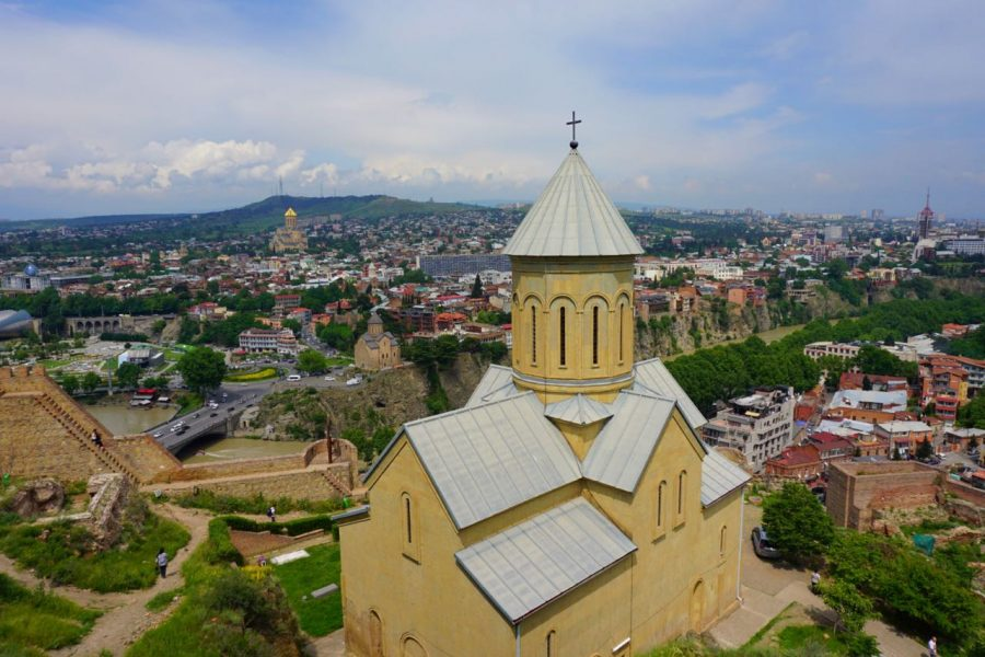 Best Places To Visit In Eastern Europe In Spring_Tbilisi Georgia