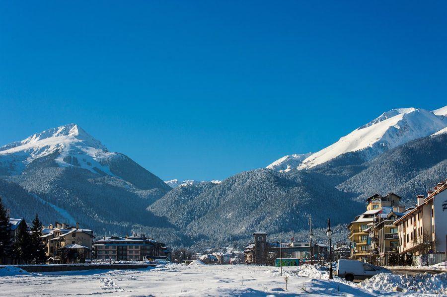 Bulgaria Travel Blog_Banski Ski Resort_Moutain Resort View