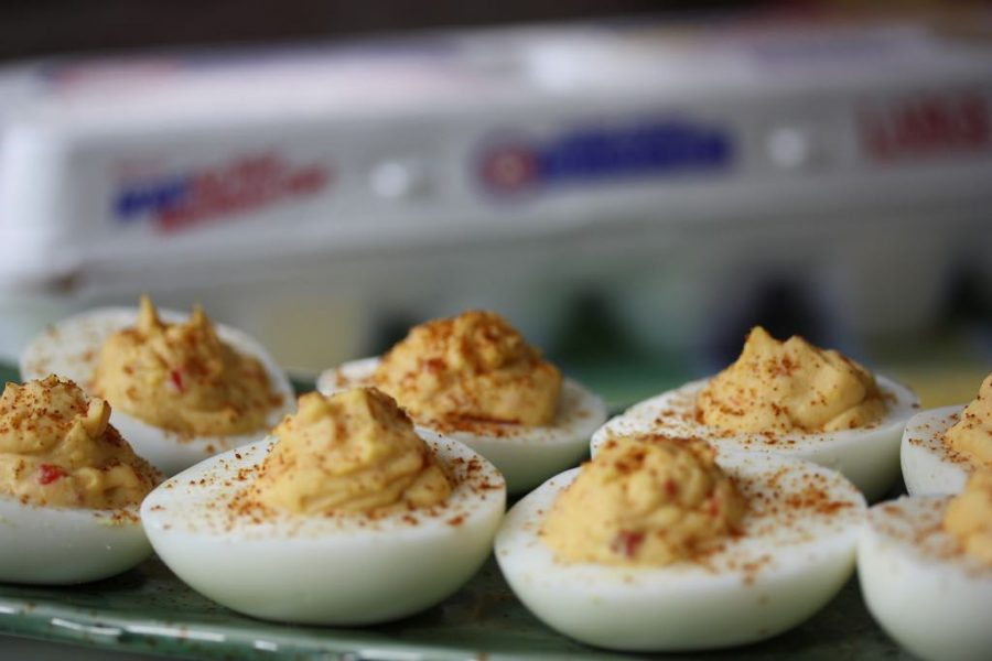 Romanian Food_Devilled Eggs