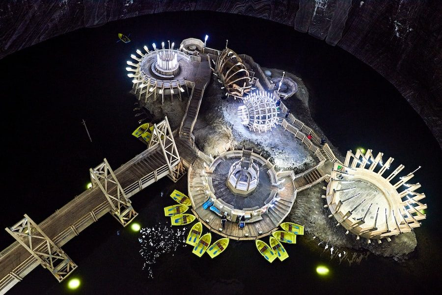 Romania Travel Blog_Things to do in Romania_5 Sights not to miss in Romania_Turda Salt Mine