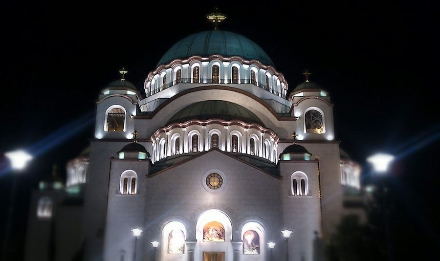 Serbia Travel Blog_Things to do in Serbia_St Sava Church at Night