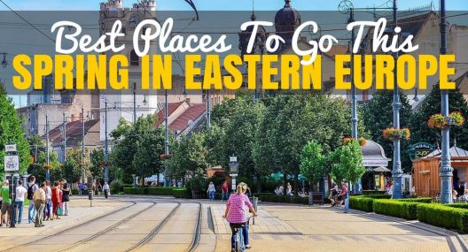 Before the influx of the summer hoards hit us here in Europe, we first get to enjoy Spring. Here are the best places to visit In Eastern Europe this Spring.