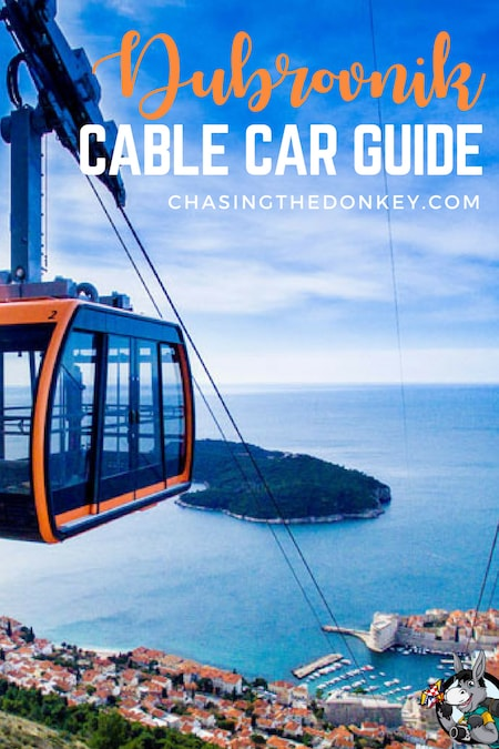 Croatia Travel Blog_Things to do in Croatia_Dubrovnik Cable Car Guide