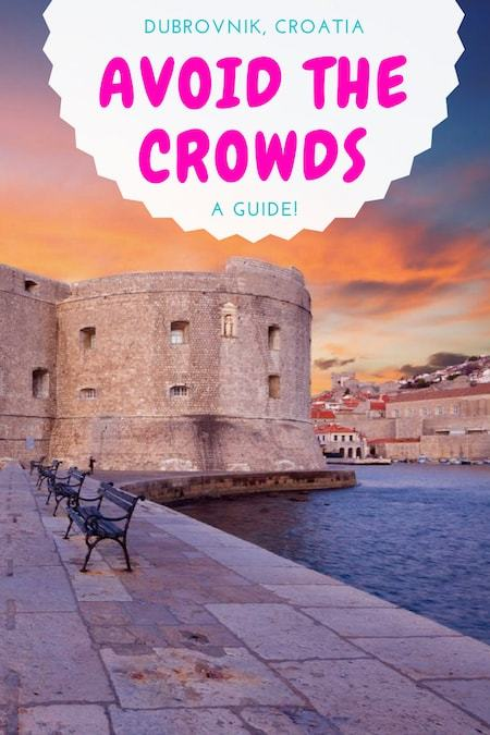 Croatia Travel Blog_Things to do in Croatia_How to Avoid the Crowds in Dubrovnik