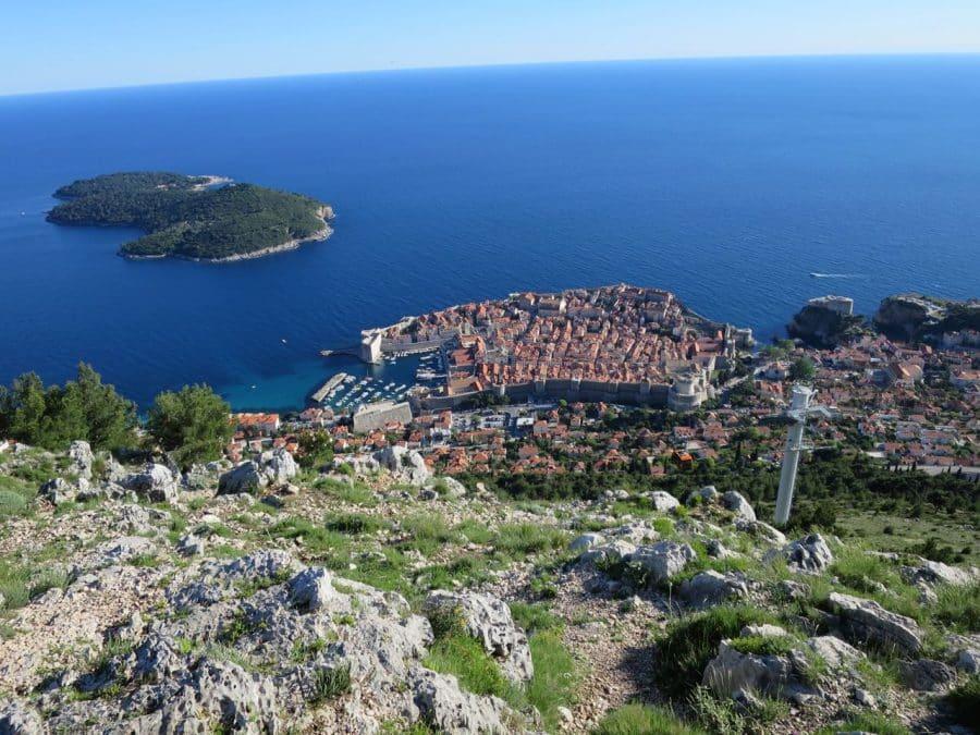 Dubrovnik Cable Car - Dubrovnik Travel Blog Pic
