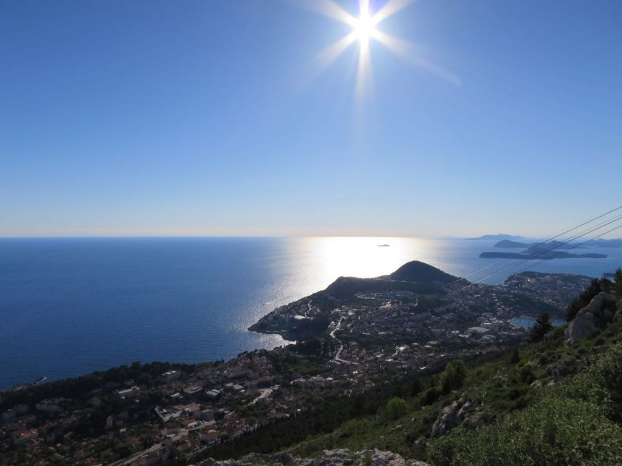 Dubrovnik Cable Car - Dubrovnik Travel Blog View