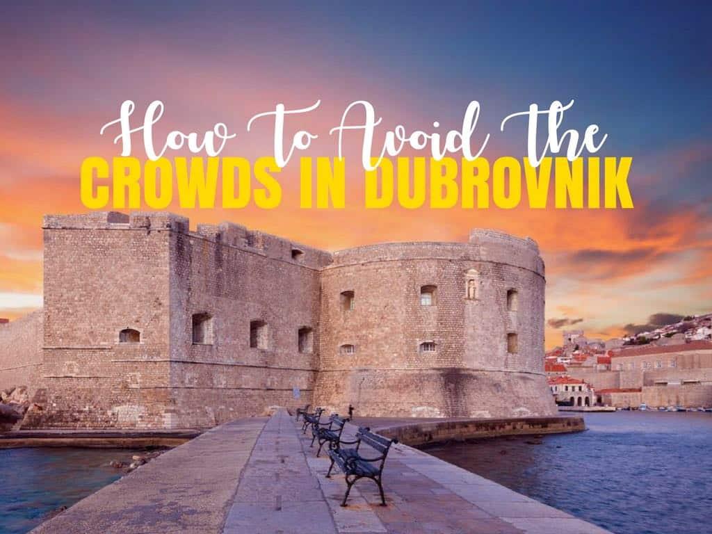 Time in Dubrovnik Crowds - Croatia Travel Blog