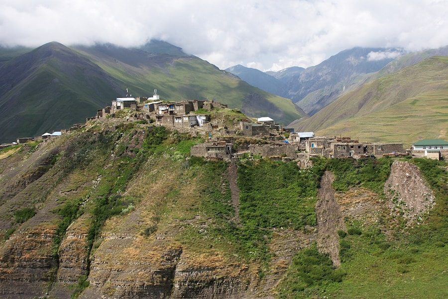 Azerbaijan Travel Blog_Things to do in Xinaliq_Mountain Village View