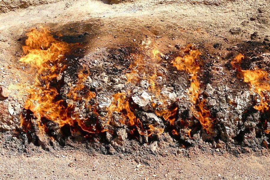 Azerbaijan Travel Guide_Things to do in Azerbaijan_Yanar Dag Fire Mountain