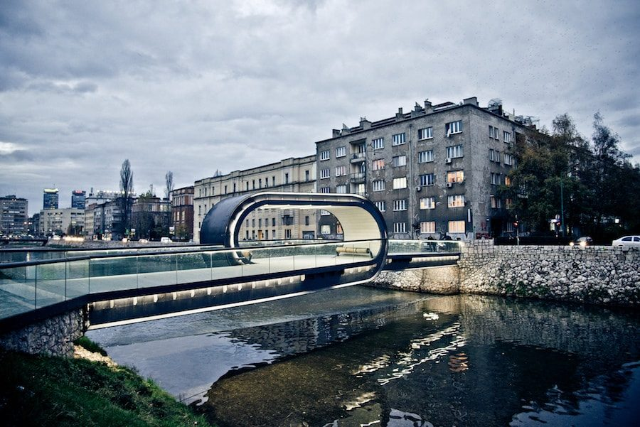 Balkans Travel Blog_Things to do in Bosnia and Herzegoina_Ultimate Guide to Sarajevo_Festina Lente Bridge