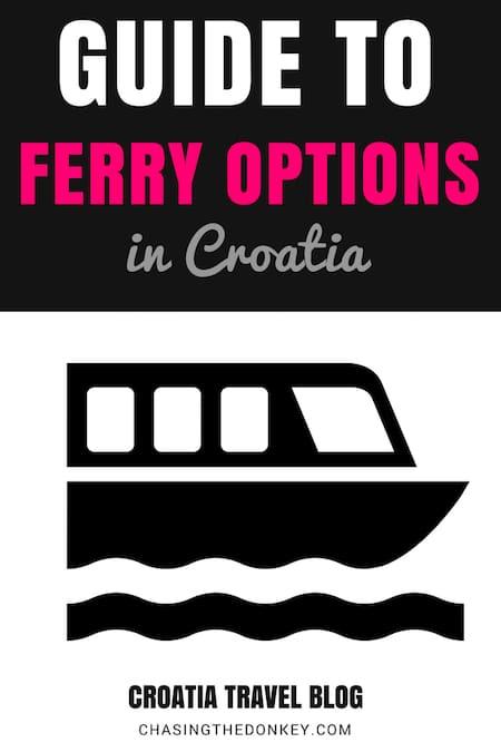 Croatia Travel Blog_Things to do in Croatia_Guide to Ferry Options in Croatia