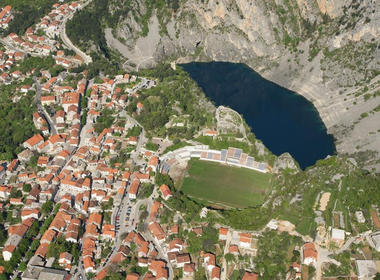 Imotski Stadion Gospin Dolac Football Pitch in Croatia