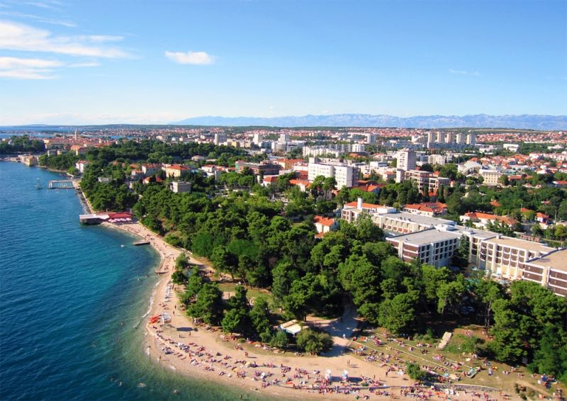 Kolovare Beach Zadar - Croatia Travel Blog